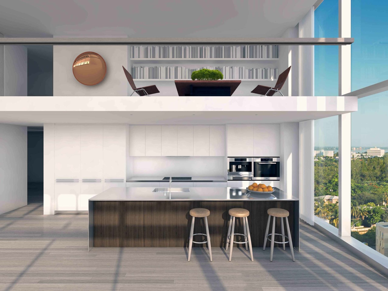 The Residences at Miami Edition: cucina