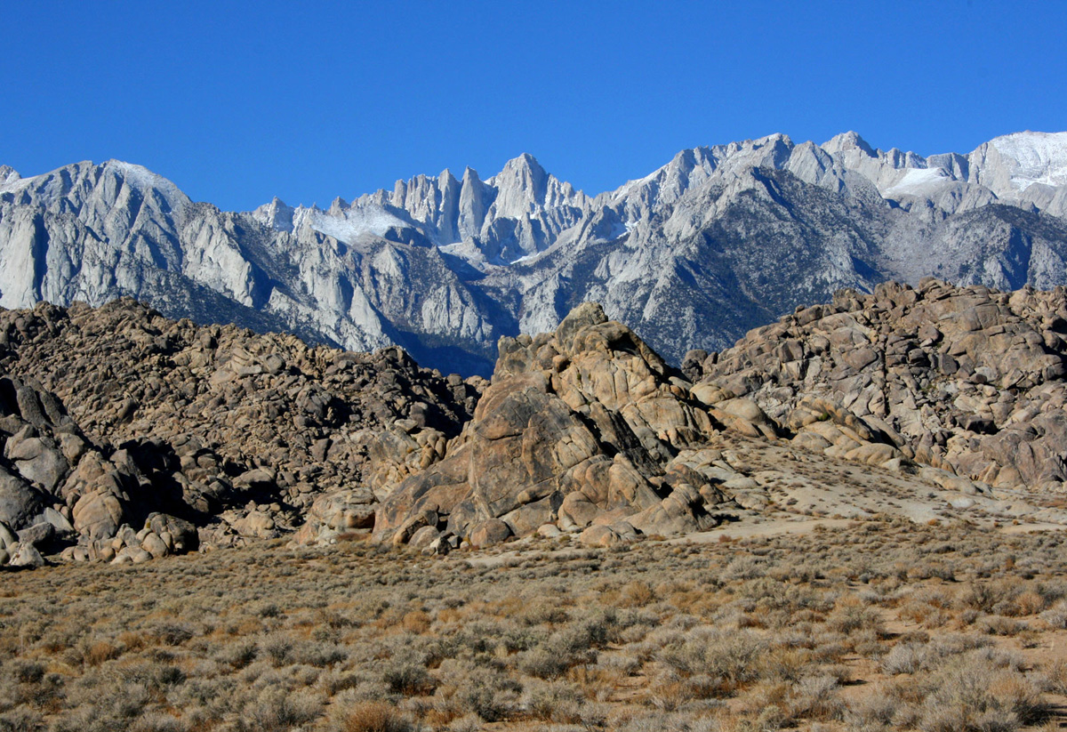 Lone Pine Mt Withney (CA)