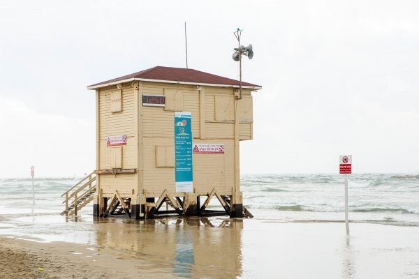 Lifeguard tower 1-2