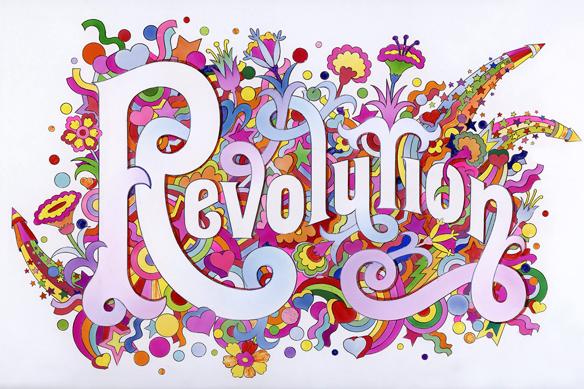 'Revolution'- Alan Aldridge/Harry Willock/Iconic Images, 1968