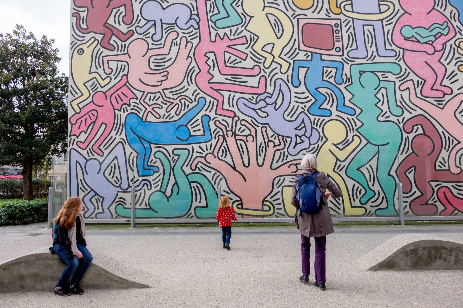 3murales keith haring ©darren and brad flickr