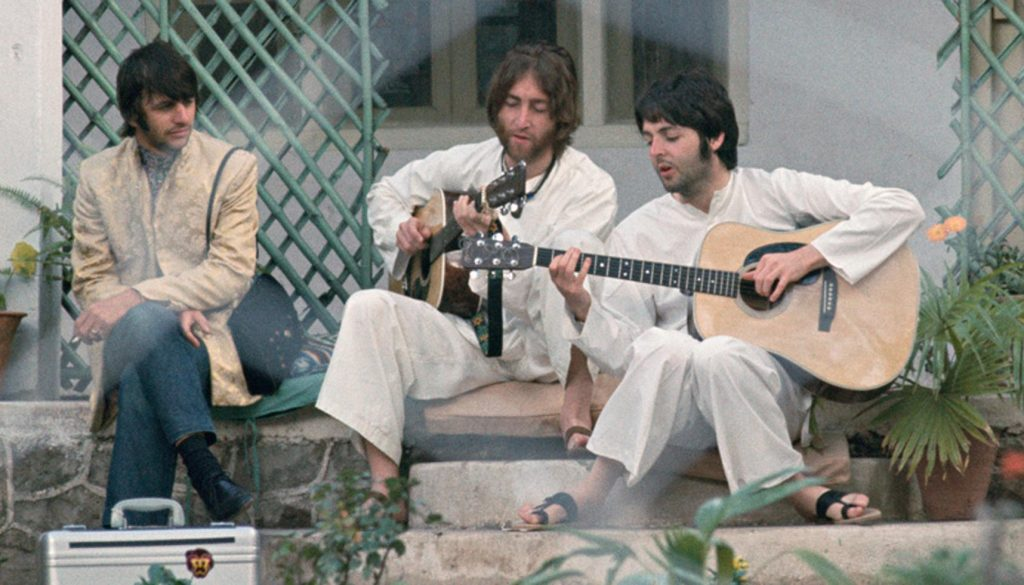 Beatles a Rishikesh
