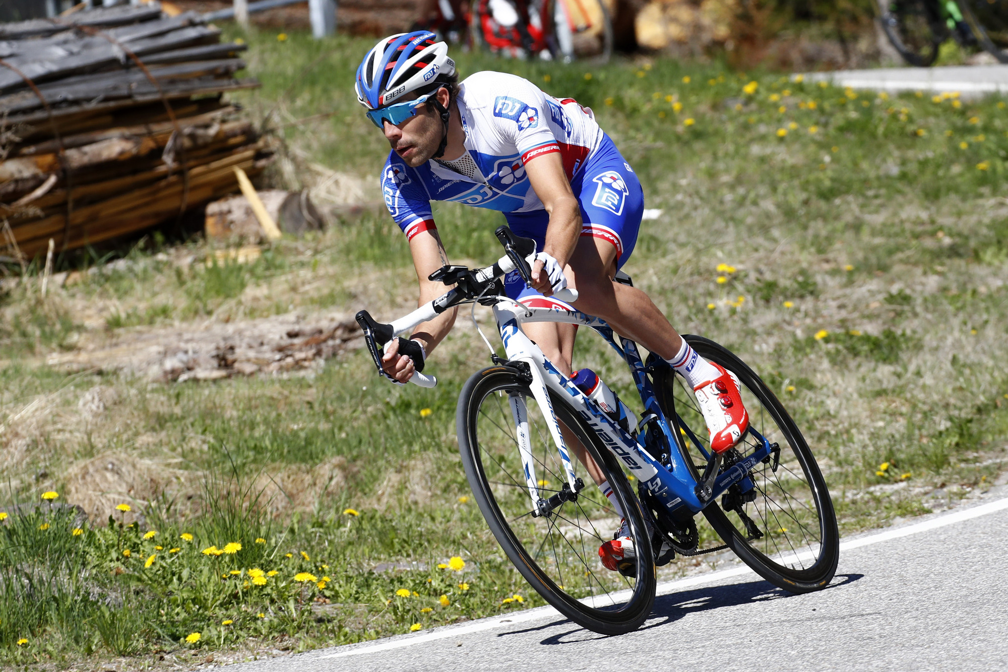 Tour of the Alps 2017 - 41th Edition - 4th stage Bolzano - Cles 165,3 Km - 20/04/2017 - Thibaut Pinot (FRA - FDJ) - photo Luca Bettini/BettiniPhoto©2017