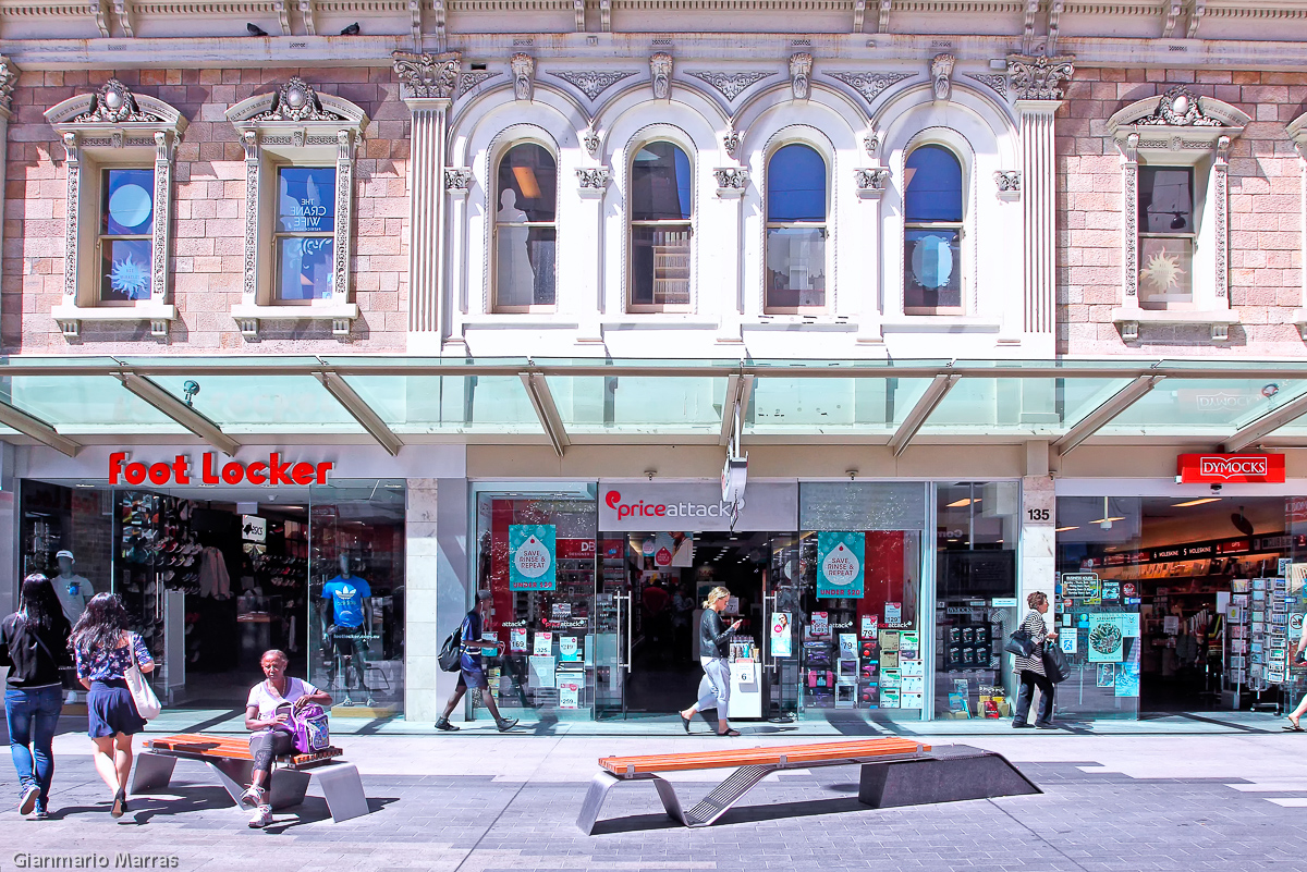 Adelaide - Rundle Mall