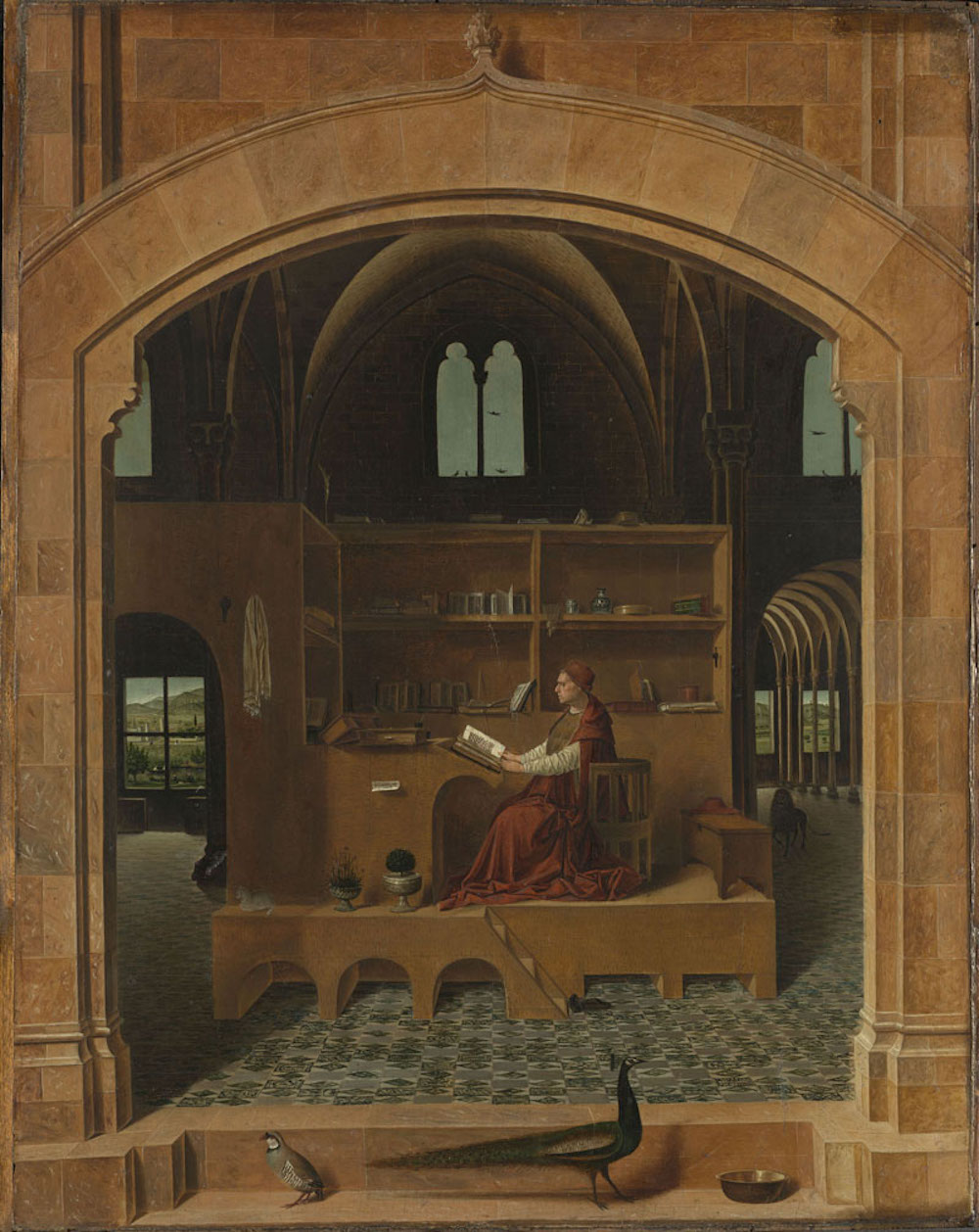 San Girolamo nello studio (1475 ca), Londra, The National Gallery