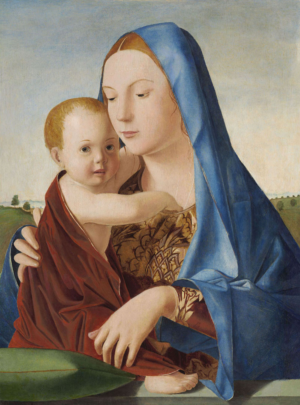 Madonna col Bambino (Madonna Benson, 1475 ca), Washington National Gallery of Art