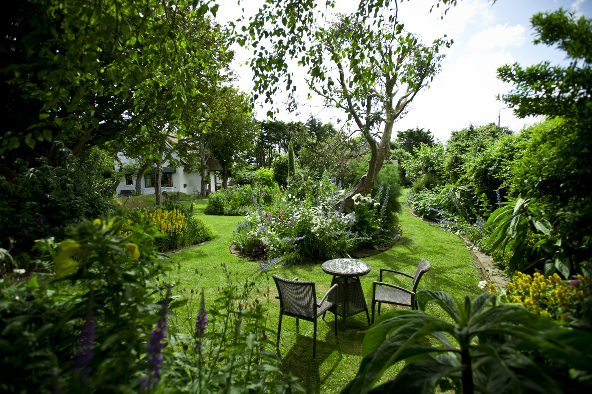 7. The Cottages Ireland ~ Picturesque Organic Cottage Gardens