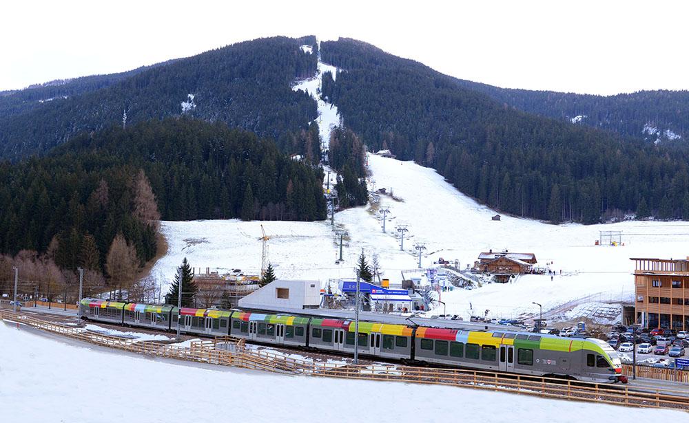 Il collegamento in treno - Ski Pustertal Express