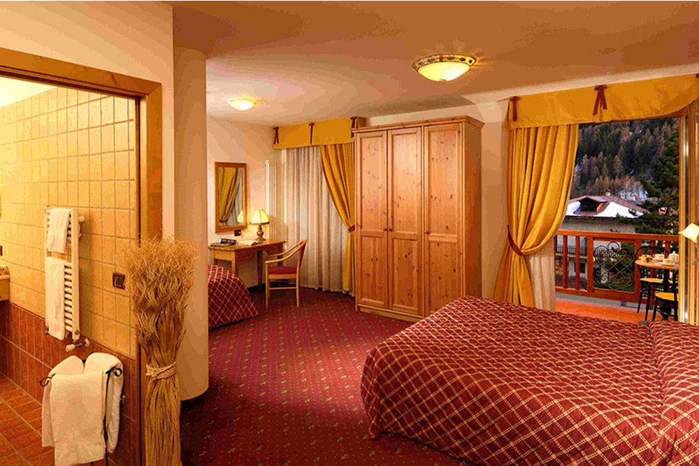 Hotel Salvadori camera