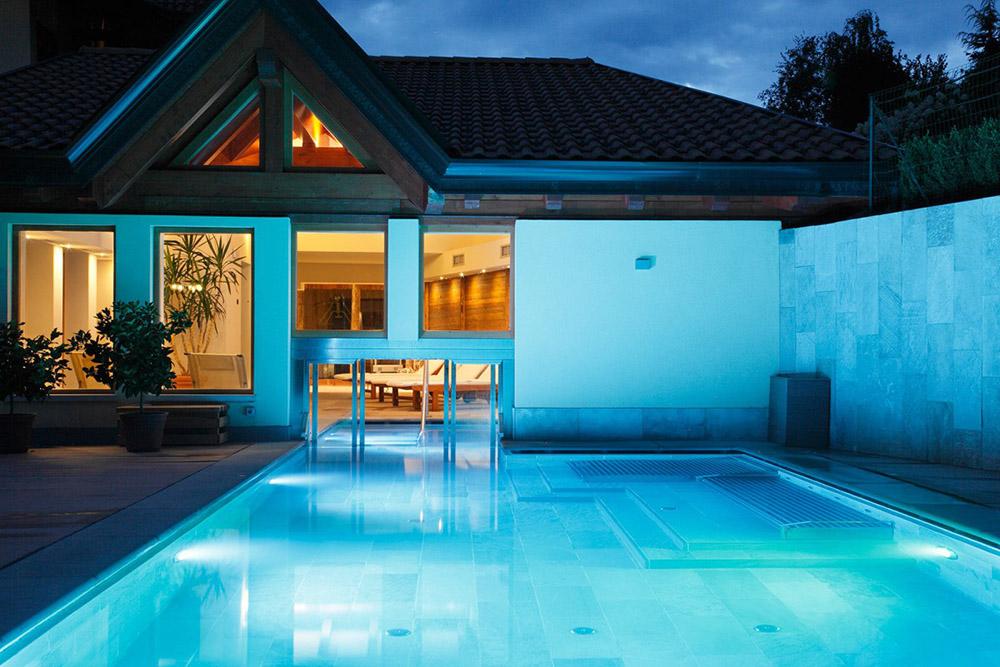 Hotel Salvadori piscina esterna