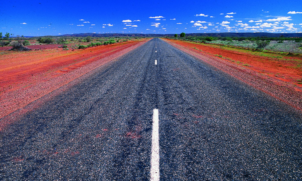 Outback road North Australia