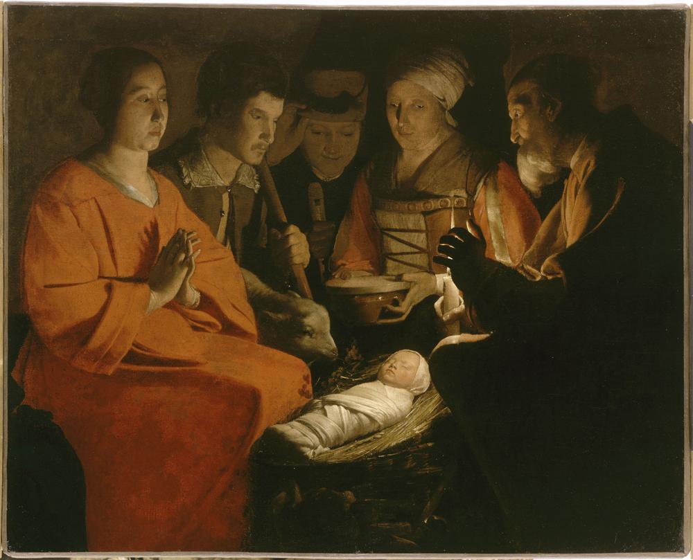 L'Adorazione dei pastori, George de la Tour