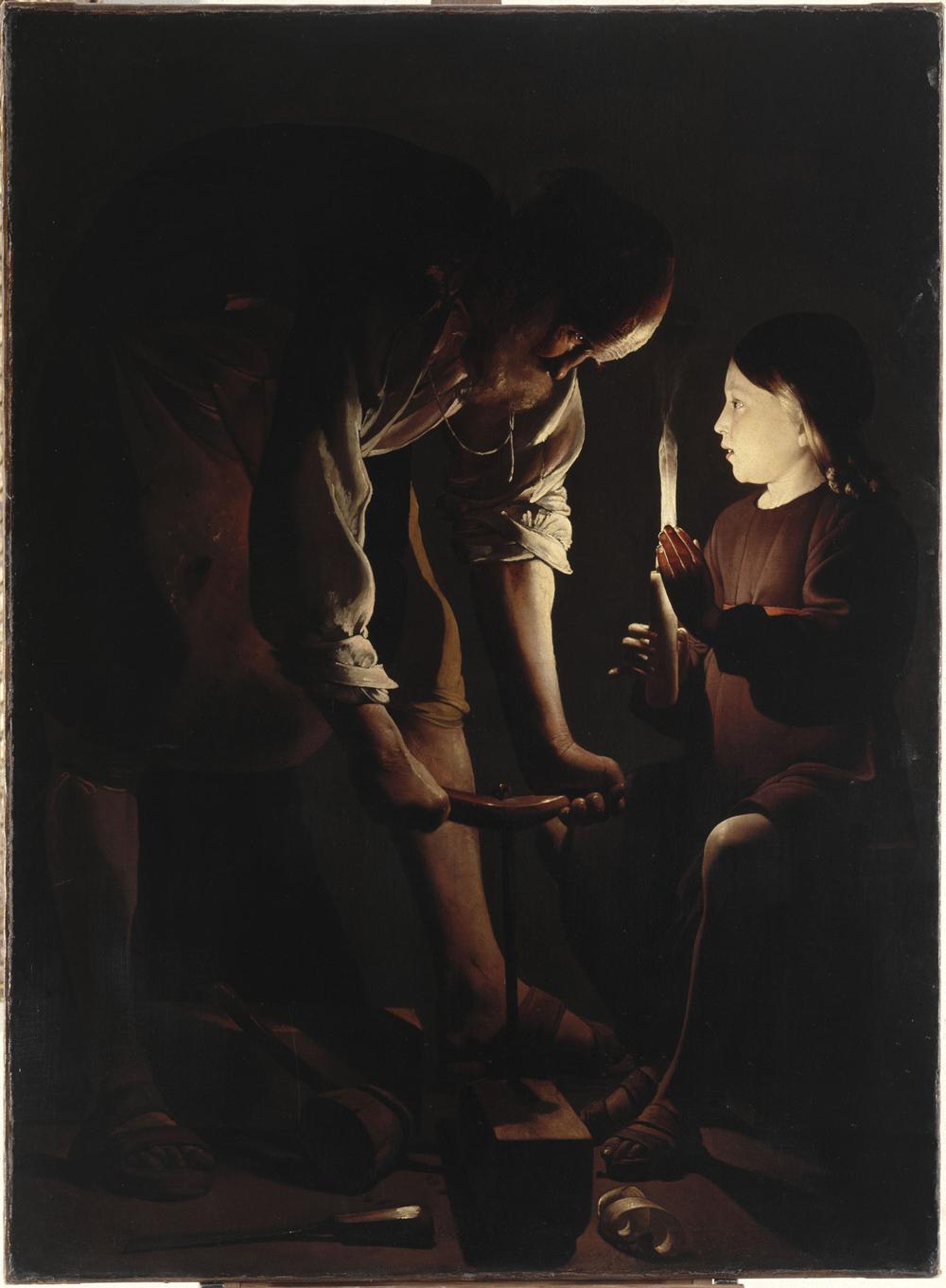 San Giuseppe falegname, George de la Tour