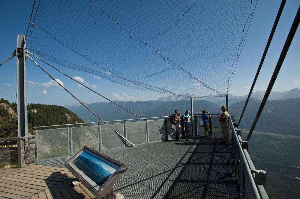 terrazza dal Monte Dobratsch