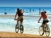 Jesolo in bici lungo la spiaggia