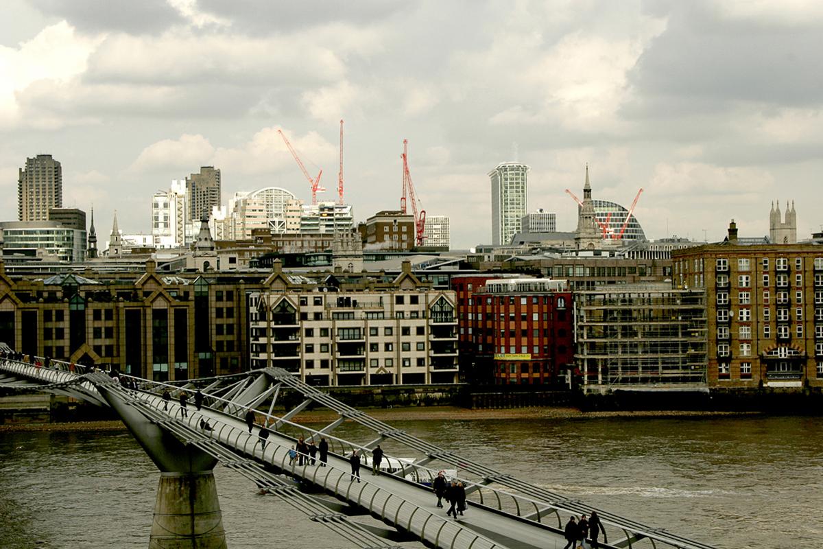 Dalla Tate Modern verso la City