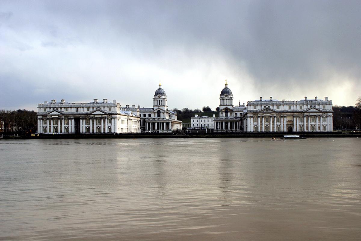 The Old Royal Naval College, ora Università, Greenwich