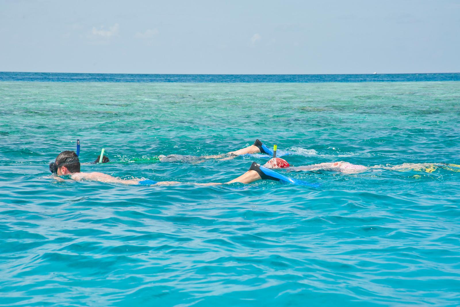 Snorkeling a Fotteyo Finolu.