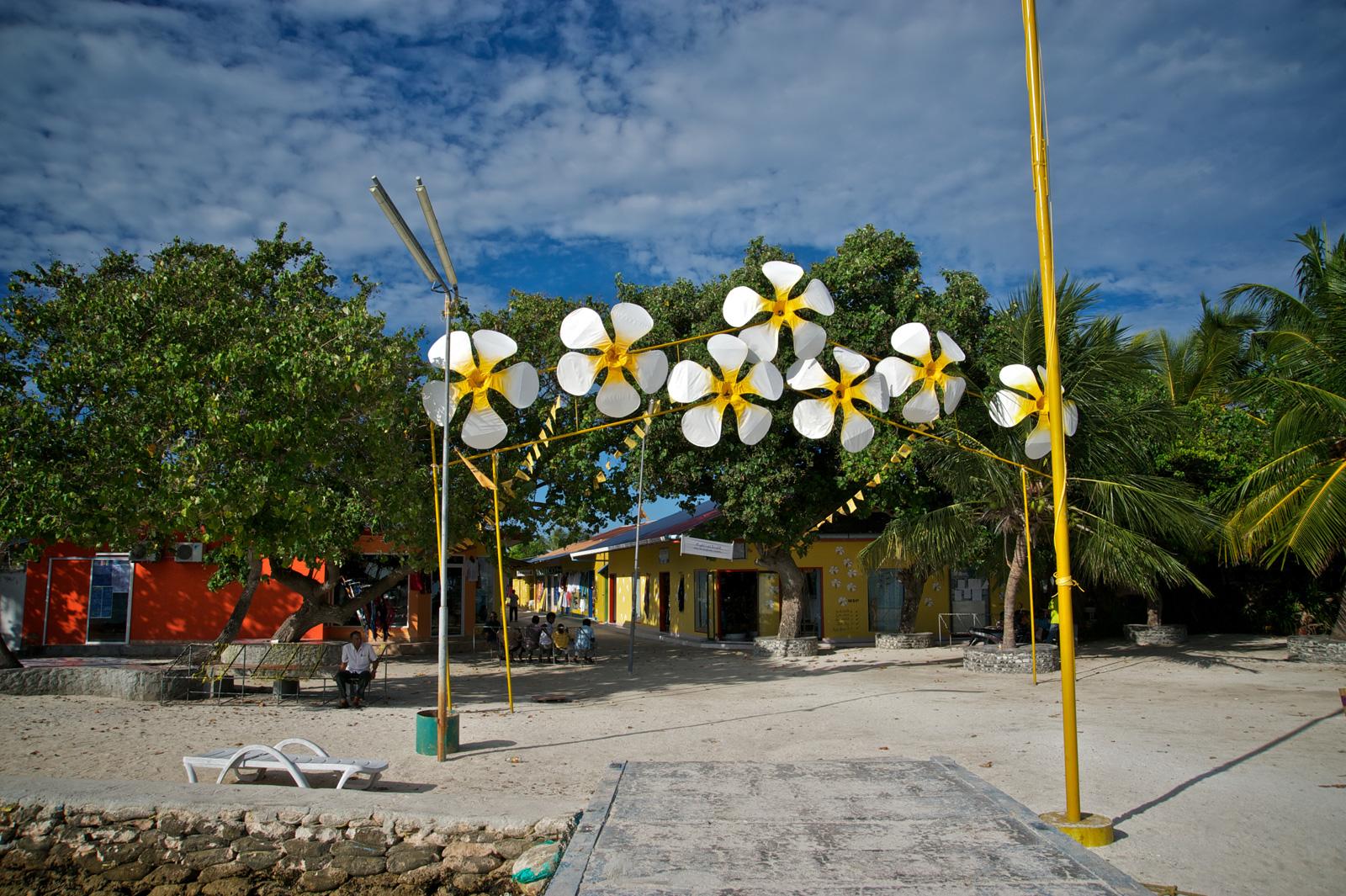 Entrata dell'isola Cocoa Kandu.