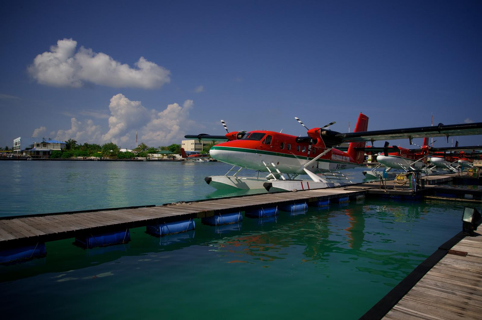 Aerotaxi a Malè.