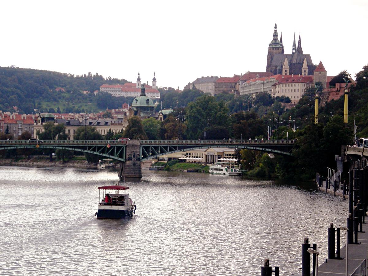 Turismo sulla Moldava