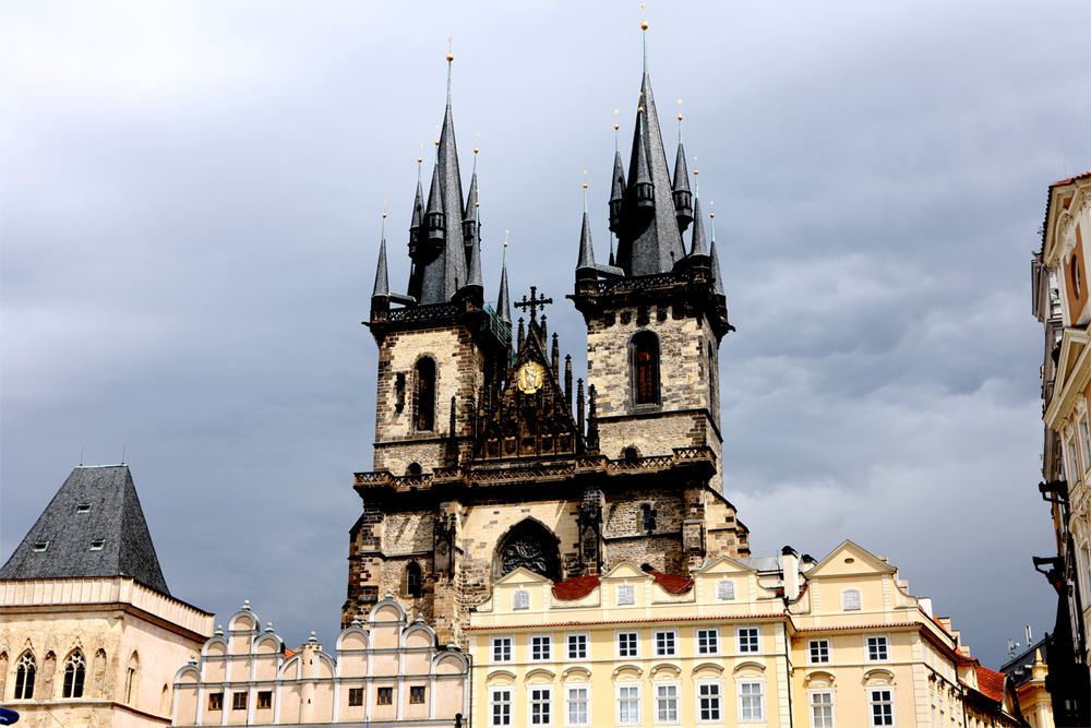 La-chiesa-gotica del-Tyn_