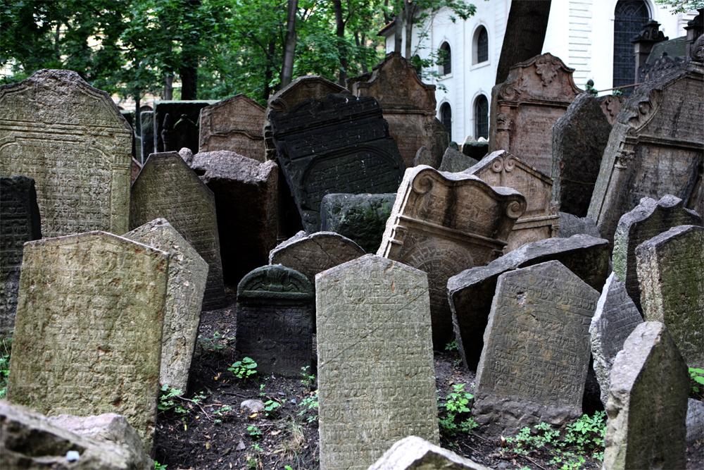 Il cimitero ebraico, quartiere Josevov