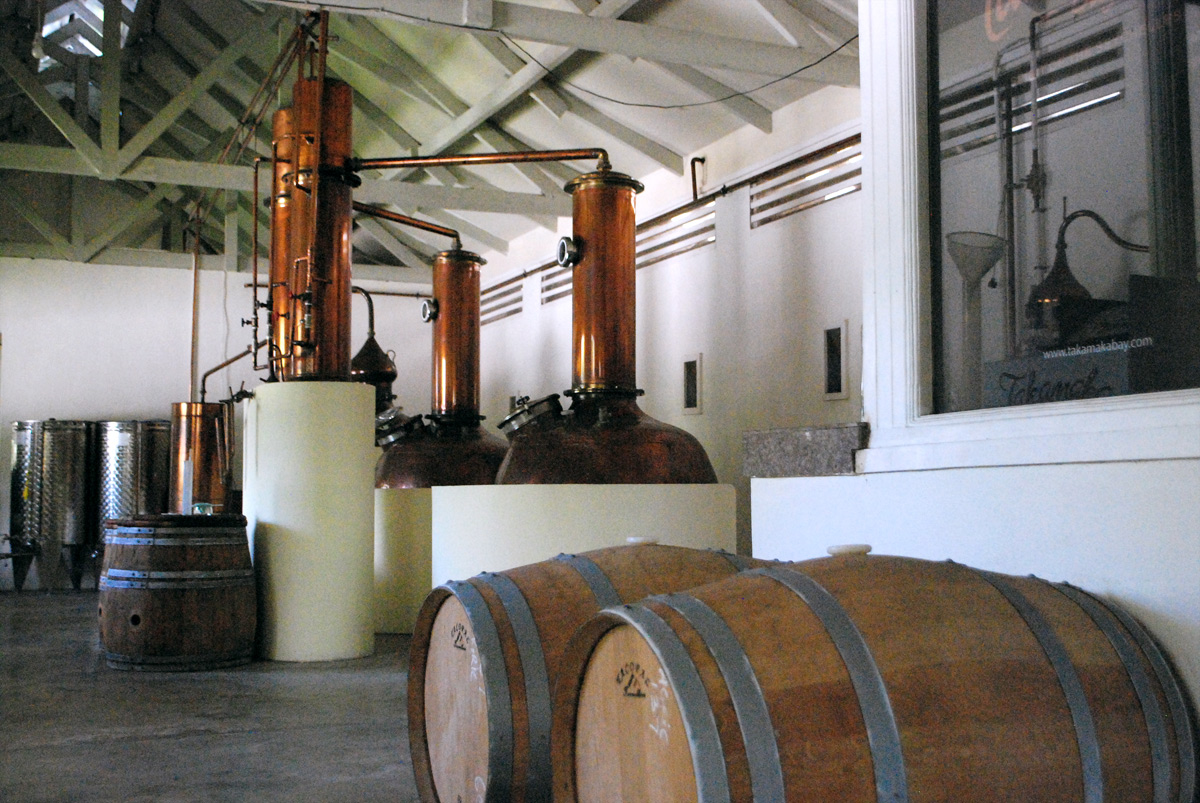 Eden Islan, distilleria di rum Takamata