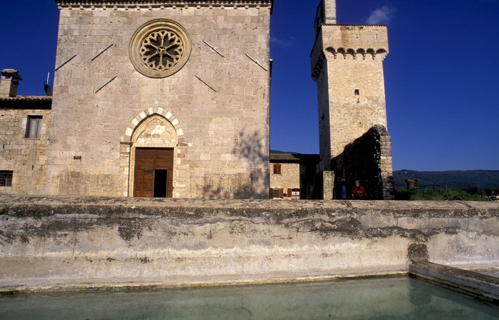 Massa Martana, Chiesa di Santa Maria in Pantano