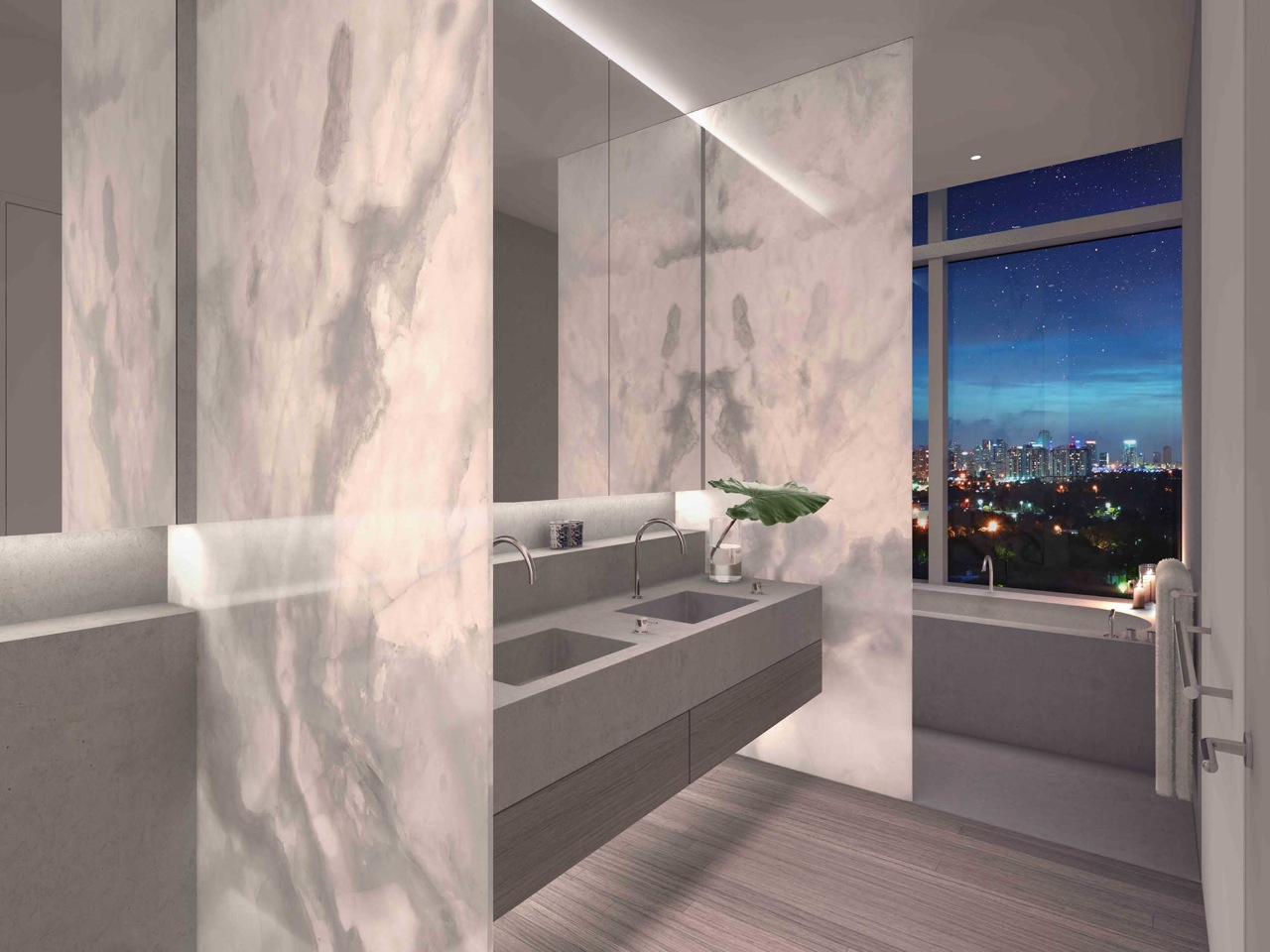 The Residences at Miami Edition: bagno