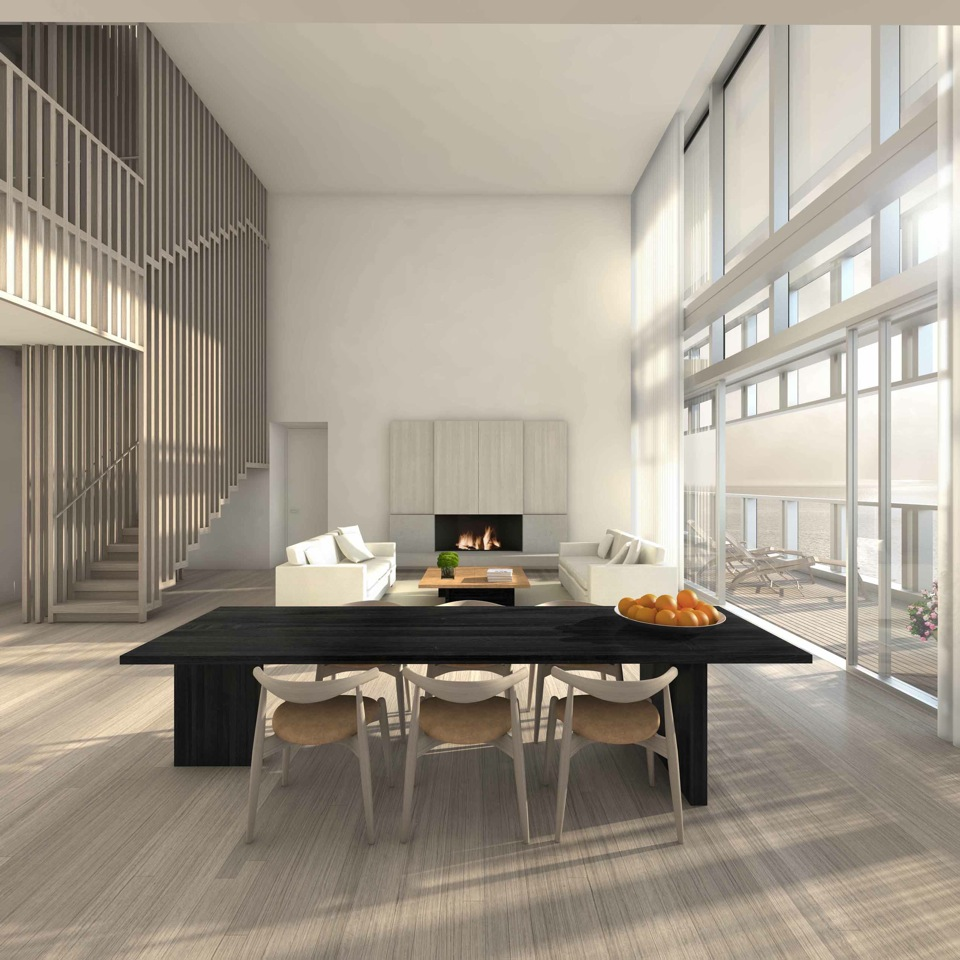 The Residences at Miami Edition: sala da pranzo