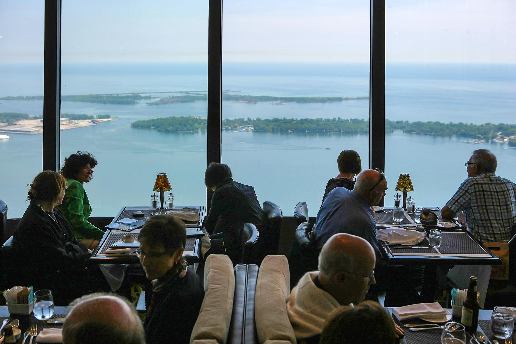 Ristorante 360° in cima alla CN Tower