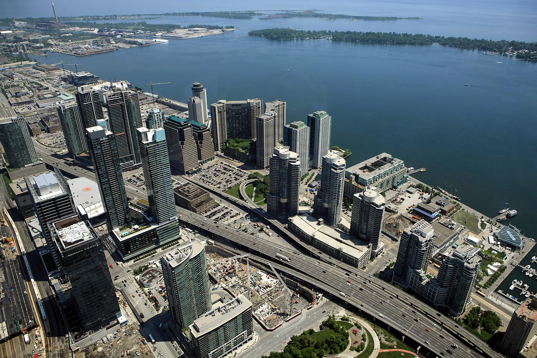 Vista dalla CN Tower