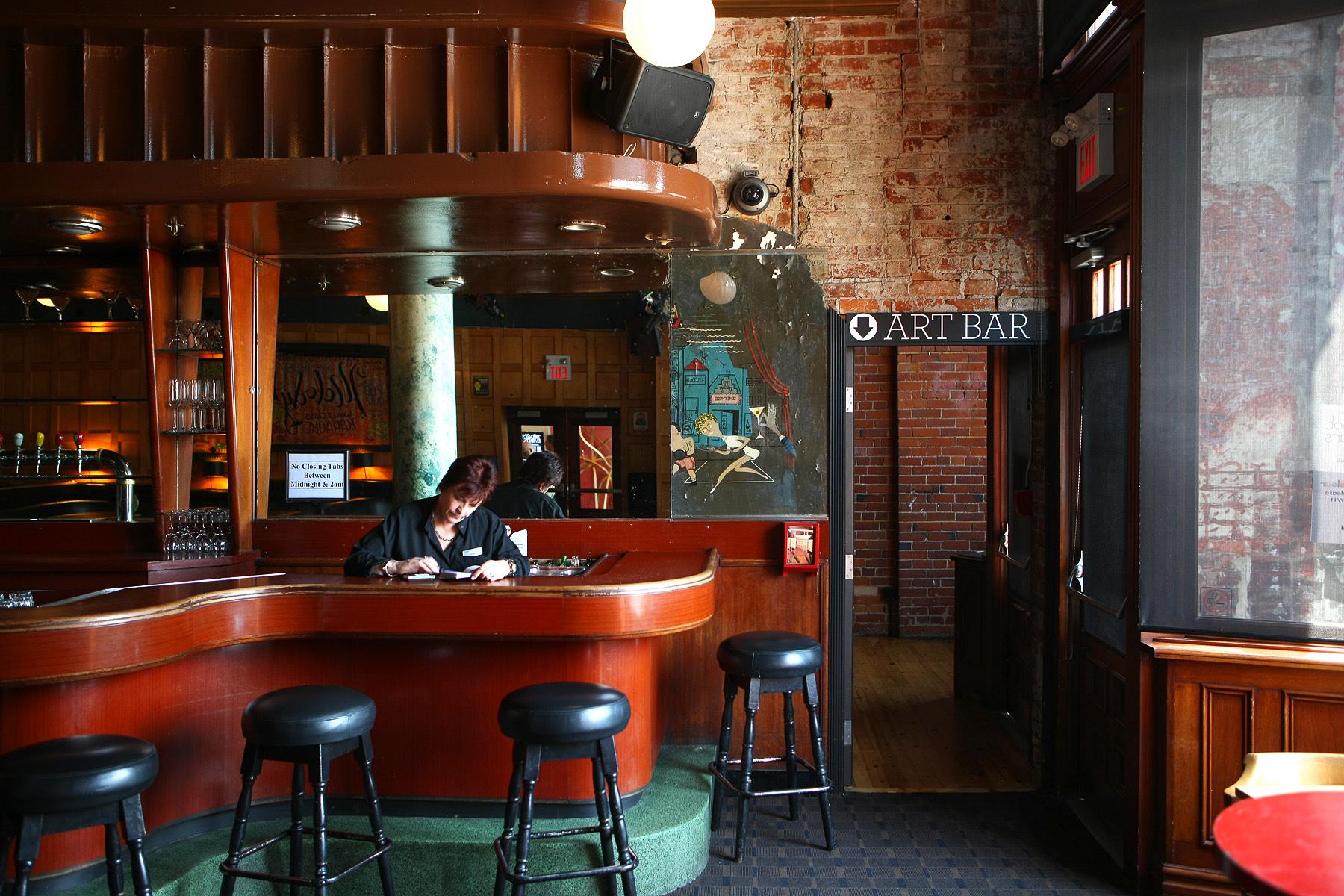 Art Bar, al Gladstone Hotel