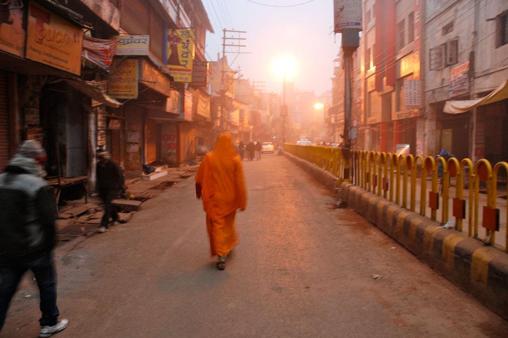 Primo pellegrino verso il Gange