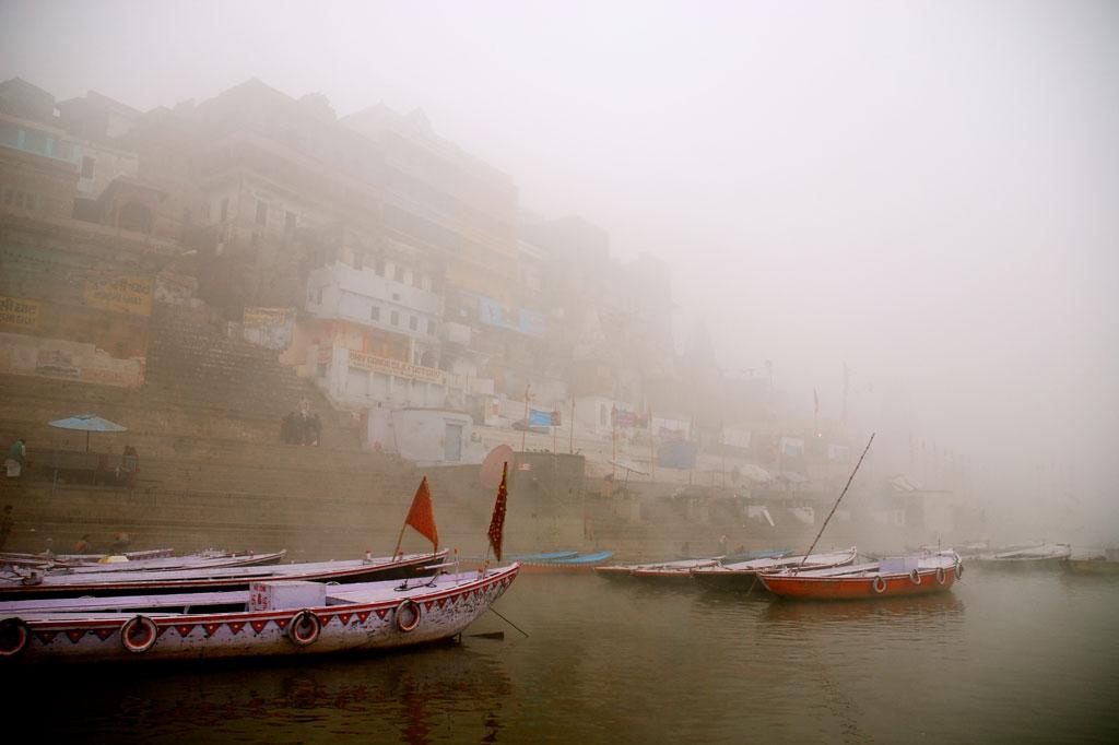 La nebbia si sta alzando