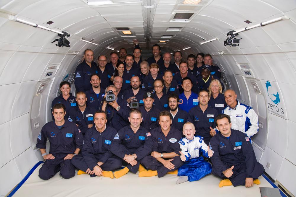A bordo del volo spaziale