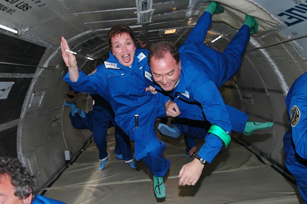 In volo a gravità zero