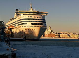 Talvista Helsinkiä joulukuu