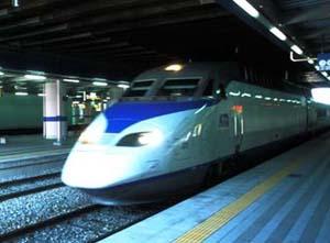 Photo Marco MorettiSouth Korea: new fast train in Daegu Railways Station