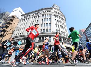 Tokyo-Marathon-Ginza