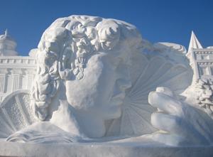 Herbin-snow-sculpture