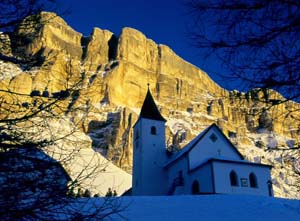Alta Badia santa croce