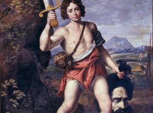 Domenichino,Davide-con-la-testa-di-Golia