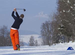 golf neve megeve campionati mondo
