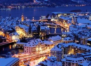 inverno a Lucerna