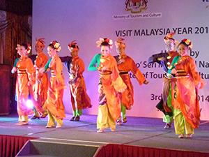 Danze tradizionali Visit Malaysia Year 2014