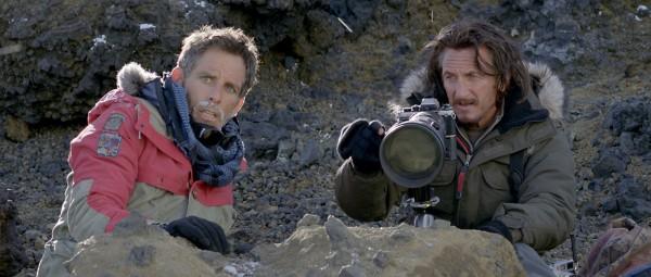 I due protagonisti Ben Stiller e Sean Penn