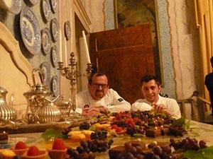 Chef_Stellati_Castello_Rivalta_con_Masssimo_Spigaroli