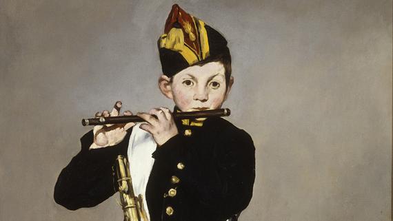 EdouardManet Il Pifferaio